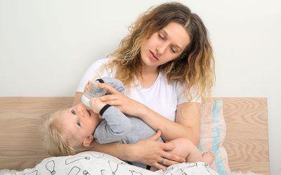 Dormir bien después de ser madre