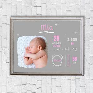 regalo personalizado recién nacido