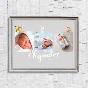 lámina personalizada bebé